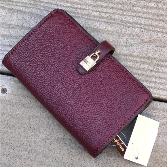 43929eb64339 Michael Kors Bags | Pebble Adele Slim Bifold Wallet | Poshmark